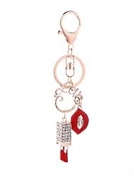 Недорогие -Брелок Губы На каждый день корейский Модные кольца Бижутерия Красный Назначение Подарок Повседневные