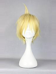 Недорогие -Косплэй парики Принцесса Лолита Желтый Лолита Парики для Лолиты 14 дюймовый Косплэй парики Однотонный Парики Хэллоуин парики