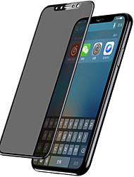 Недорогие -asling экран протектор яблоко для iphone x закаленное стекло 1 шт экран протектор полный экран протектор экрана переднего экрана протектор 3d изогнутый край