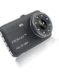 cheap -ZIQIAO JL-17 4.0 Inch Full HD 1080P IPS Screen Double Record Wide Dynamic Car DVR Camera Video Registrator Recorder HDR G-sensor Dash Cam DVR