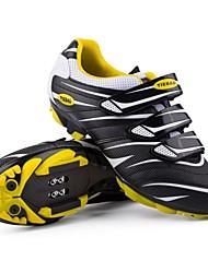 Недорогие -Tiebao® Обувь для горного велосипеда нейлон Водонепроницаемость Дышащий Противозаносный Велоспорт Серебряный Красный Зеленый Муж. Обувь для велоспорта / Амортизация / Вентиляция / Амортизация