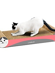 cheap -Scratch Art Paper & Papercrafting Cat Toy One-piece Suit Multi Color Scratch Pad Help to lose weight Catnip Cardboard Paper High Quality Paper Gift Pet Toy Pet Play