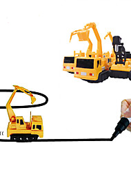cheap -Soft Plastic Truck Toy Truck Construction Vehicle Magic Inductive Car Toy Car Kid's Adults' Car Toys / Hand-made