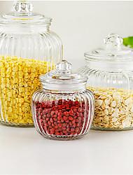 cheap -3pcs Bulk Food Storage Glass Creative Kitchen Gadget