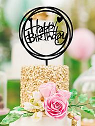 cheap -Wedding / Birthday Acrylic Wedding Decorations Classic Theme All Seasons