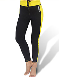 cheap -HISEA® Women's Wetsuit Pants Shorts Bottoms Waterproof Thermal / Warm Breathable Diving Fashion Spring Summer Fall / High Elasticity