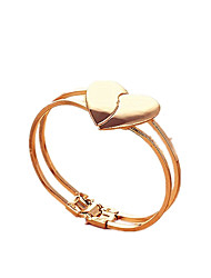 cheap -Women's Cuff Bracelet Heart Fashion Alloy Bracelet Jewelry Gold For Daily