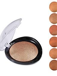 cheap -6 Colors Blush Dry / Shimmer Long Lasting China Makeup Cosmetic ABS