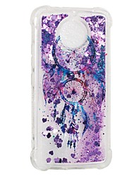 cheap -Case For Motorola Moto G5s / Moto E4 Shockproof / Flowing Liquid / Pattern Back Cover Dream Catcher Soft TPU
