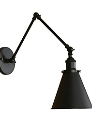 cheap -Industrial Nostalgia Personality Loft Black Umbrella Section Double Wall Lamp 110-120V / 220-240V LED 4W