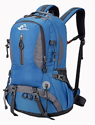 cheap -45 L Hiking Backpack Rucksack Commuter Backpack Comfortable Outdoor Camping / Hiking Hiking Outdoor Exercise Nylon Red Green Blue