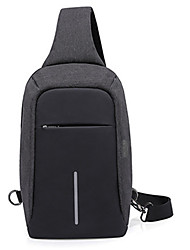 cheap -4 L Commuter Backpack Breathable Rain Waterproof Wear Resistance Outdoor Hiking Cycling / Bike Camping Oxford Black Blue Grey / Yes