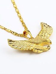 cheap -Men's Pendant Necklace Chain Necklace Animal Gothic Hip Hop Gold Plated Yellow Gold Gold Necklace Jewelry For Street Club
