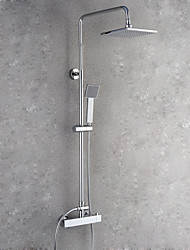 cheap -Shower Faucet - Contemporary Chrome Wall Mounted / Brass