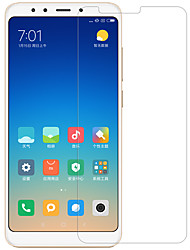 cheap -Nillkin Screen Protector for Xiaomi Xiaomi Redmi 5 Tempered Glass / PET 1 pc Front & Camera Lens Protector High Definition (HD) / 9H Hardness / Explosion Proof