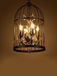 Недорогие -4-Light Потолочный светильник Металл Свеча Стиль 110-120Вольт / 220-240Вольт Лампочки не включены / FCC