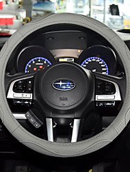 cheap -Steering Wheel Covers Genuine Leather 38cm Beige / Gray / Coffee For universal General Motors All years
