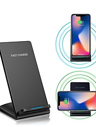 cheap -10w Fast Wireless Charger for for iPhone XS iPhone XR XS Max iPhone 8 Samsung S9 Plus S8 Note 8 Or Built-in Qi Receiver Smart Phone