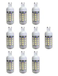 cheap -10pcs 4.5 W 380 lm G9 36 LED Beads SMD 5050 LED Light Warm White 220-240 V