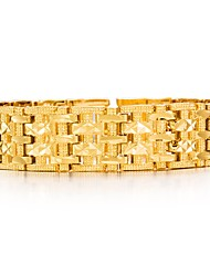 cheap -Men's Chain Bracelet - Gold Plated Fashion Bracelet Gold For Party Gift