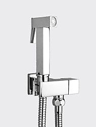 cheap -1279 Sprinkle®Bidet Faucets - Modern Chrome Pull out / Wall Mount One Hole