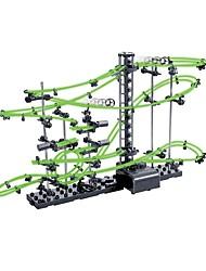 abordables -Spacerail Fluo level 2 Marble Run Race Construction Set de Circuits à Billes Circuit à Bille Rectangulaire Galaxie Etoilée Jouet Vapeur Focus Toy Motif géométrique résine ABS Enfant Adulte Unisexe