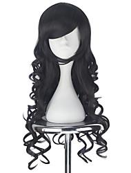 cheap -Cosplay Wigs Women's 30 inch Heat Resistant Fiber Brown Anime / Princess Lolita