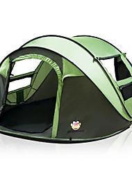 Недорогие -3 человека Всплывающая палатка На открытом воздухе Компактность Легкость С защитой от ветра Однослойный Автоматический Сферическая Палатка 2000-3000 mm для Охота Рыбалка Пляж  200*280*120 cm