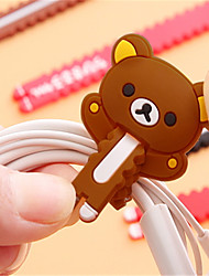 Недорогие -кабель кабель организатор abs iphone 8 плюс / 7 плюс / 6s плюс / 6 плюс