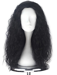 cheap -Cosplay Wigs Men's Women's 22 inch Heat Resistant Fiber Black Anime / Princess Lolita