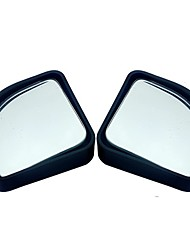 cheap -2pcs/lot car accessories small round mirror car rearview mirror blind spot wide-angle lens 360 degree rotation adjustable