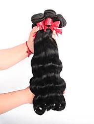 cheap -3 Bundles Brazilian Hair Body Wave Virgin Human Hair Natural Color Hair Weaves / Hair Bulk Human Hair Weaves Human Hair Extensions / 10A
