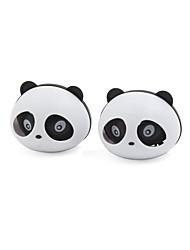 Недорогие -2 шт. Panda в форме автомобиля освежитель воздуха с двумя зажимами
