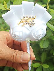 cheap -Wedding Flowers Boutonnieres Wedding / Event / Party Satin 3.94 inch