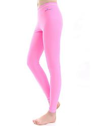 abordables -Bluedive Femme Leggings de Plongée Bas SPF50 Protection solaire UV Respirable Natation Plongée Surf Couleur Pleine / Séchage rapide / Haute élasticité / Séchage rapide