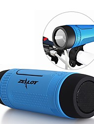 cheap -Zealot S1 Portable Bluetooth Speaker Wireless Bicycle Speaker+fm Radio Outdoor Waterproof Boombox Support TF Card,AUX,Flashlight