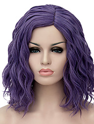 cheap -Synthetic Wig Wig Purple Synthetic Hair Women's Purple