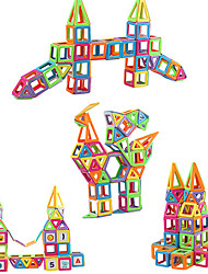 cheap -Magnetic Blocks Magnetic Tiles Building Blocks 279 pcs Architecture Covers New Design Geometric Pattern Hand-made Decompression Toys Classic & Timeless Geometric Pattern All Boys' Girls' Toy Gift