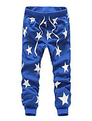cheap -Men's Simple Cotton Sweatpants Chinos Pants - Galaxy