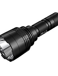 cheap -Nitecore P30 LED Flashlights / Torch Water Resistant / Waterproof 1000 lm LED LED 1 Emitters 8 Mode Water Resistant / Waterproof Portable Impact Resistant LED Flash Lighting Camping / Hiking / Caving