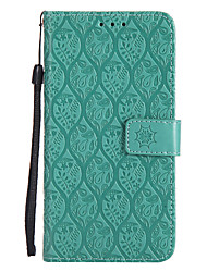 cheap -Case For Motorola Moto Z Force / Moto X Style / Moto G5 Plus Wallet / Card Holder / with Stand Full Body Cases Solid Colored Hard PU Leather