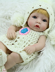 cheap -NPK DOLL Reborn Doll Baby 12 inch Full Body Silicone Silicone Vinyl - lifelike Cute Hand Made Child Safe Non Toxic Lovely Kid's Girls' Toy Gift / Parent-Child Interaction / CE Certified / Floppy Head