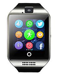 Недорогие -Муж. Жен. Спортивные часы Смарт Часы электронные часы Цифровой силиконовый Черный Bluetooth Пульт управления GPS Цифровой На каждый день Квадрат Мода - Черный Белый Серебряный / Хронометр