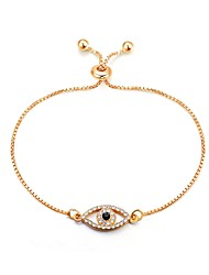cheap -Women's Chain Bracelet Bracelet Evil Eye Ladies Classic Fashion Alloy Bracelet Jewelry Gold For Daily Office & Career