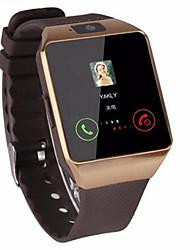 Недорогие -Муж. Жен. Спортивные часы Смарт Часы электронные часы С автоподзаводом силиконовый Черный Bluetooth Пульт управления Хронометр Цифровой На каждый день Квадрат Мода - Белый Черный Серебряный