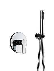cheap -Simple Style Hand Shower / Rain Shower / Bathroom Sets Chrome Feature - Handshower Included / Shower, Shower Head
