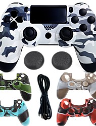 cheap -Wired Game Controller Case Protector / Game Controller For PS4 ,  Gaming Handle / Vibration Game Controller Case Protector / Game Controller Silicone / ABS 1 pcs unit