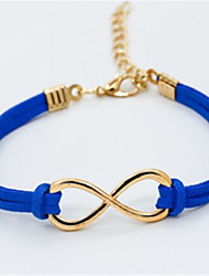 cheap -Women's Bracelet Fashion Cord Bracelet Jewelry Blue / Pink / Dark Red For Daily Going out