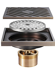 cheap -Drain Antique Brass 1 pc - Hotel bath