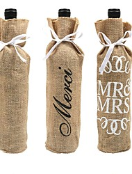 cheap -Favor Bags Jute Wedding Decorations Wedding / Party / Evening Classic Theme / Vintage Theme All Seasons
